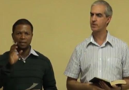 Cristo formado em nós pela Cruz Pretória-África – 11/02/2012 – Romeu Bornelli